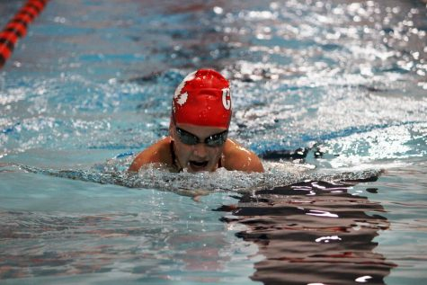 City High Girls Swimming & Diving Team Places Fourth at Regionals with Three Athletes Qualifying for State Individually