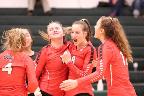 LIVE STREAM:  City High Volleyball vs. Dubuque Wahlert