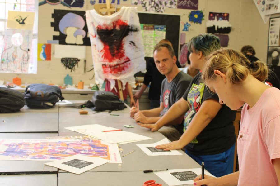 Art Club Gets New Screen Printing Materials