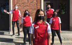 Senior ambassadors Thomazin Jury '21, Maya Warren '21, Ben Cooper '21, Francesca Brown '21, and Noah Hartwig '21 in their video about involvement at City High