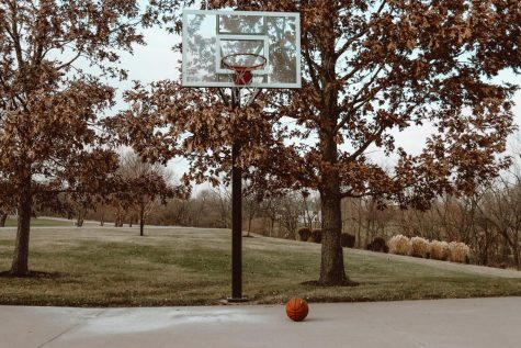 More and more public basketball courts are found empty with temperatures dropping and cases rising. Like this one, more home courts and nets are being used.