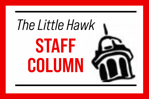 A Little Hawk staff columns outlines the social media policy