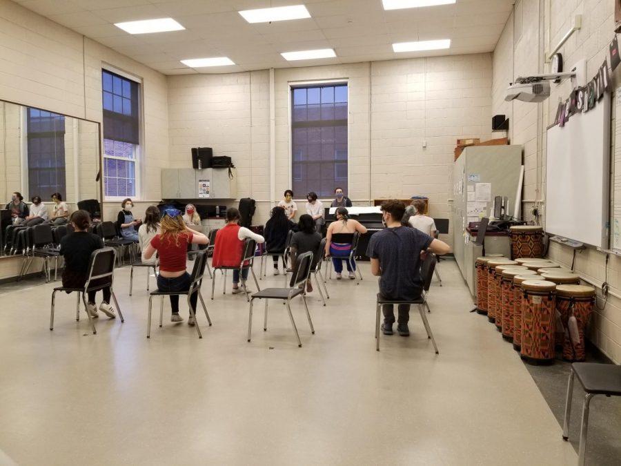 Choreography+practice+for+Matilda