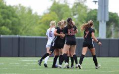 Girls Varsity Soccer Keeps Pushing