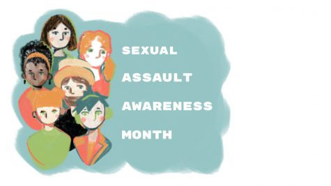 Art of group of individuals representing the diverse effect of sexual assault