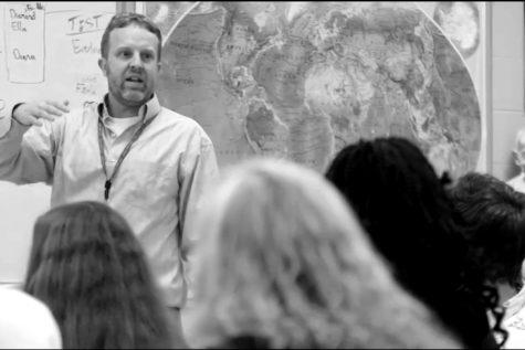 Mr. Schumann teachers social studies at City High.