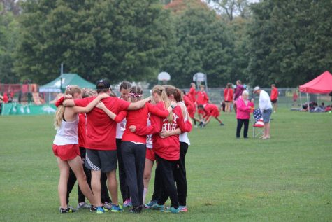 Varisty 7 at the MVC Super Meet on October 7, 2021